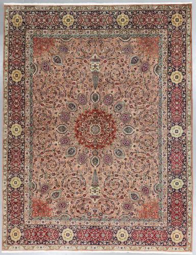 Fine 40 Raj Tabriz Vintage c1950 Persian Rug (Ref 31) 405x300cm