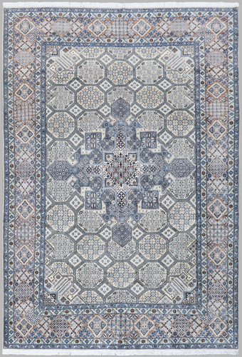 Nain Fine Wool & Silk Inlay 9la Persian Rug (Ref 116) 390x290cm