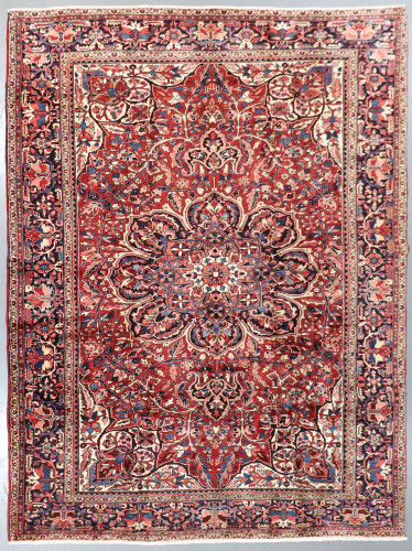 Heriz Vintage Village Persian Rug c1950 (Ref 158) 400x290cm