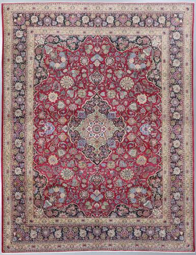 Qazvin Fine Vintage c1930 Persian Rug (Ref 88) 415x315cm