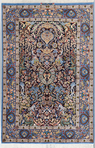 Isfahan Fine Floral Persian Rug (Ref 112) 230 x150cm