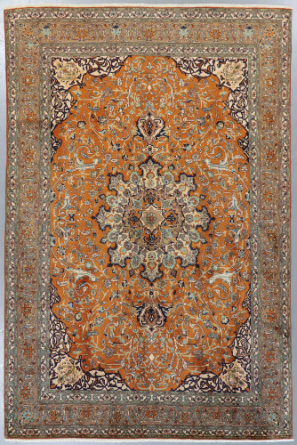 Qum Fine Persian Rug (Ref 185) 305x205cm