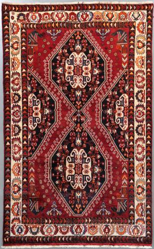 Shiraz Qashqai  Persian Rug (Ref 264) 245x155cm
