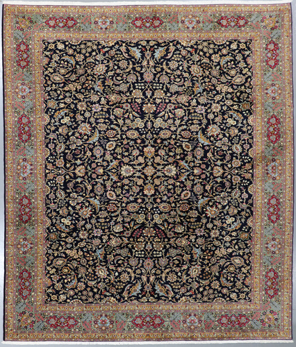 Qum Fine Persian Rug (Ref 90) 400x330cm
