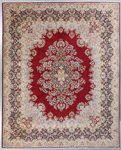 Kerman Fine Vintage Persian Rug (Ref 115) 395x305cm