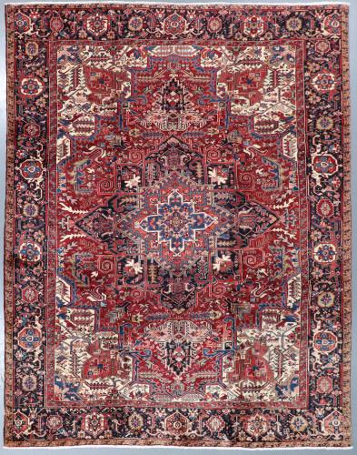 Heriz Vintage Fine Persian Rug (Ref 24) 420x310cm