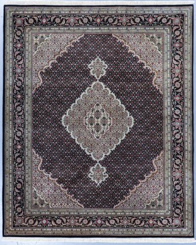 Mahi Tabriz Jaipur Rug Wool and Silk (Ref 61) 249x203cm