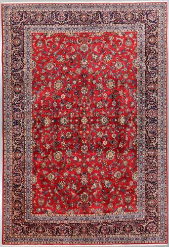 Kashan Fine Lambswool  Persian Rug (Ref 925) 416x275cm