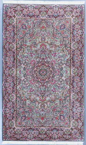 Kerman Floral Vintage Persian Rug (Ref 286) 240x145cm