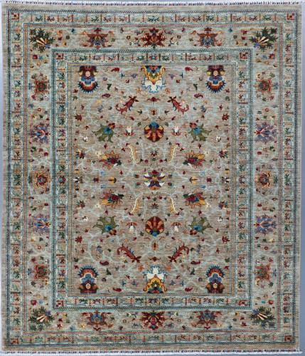 Sultani Khorjin Floral Fine Veg Dye Rug (Ref 401) 298x250 cm