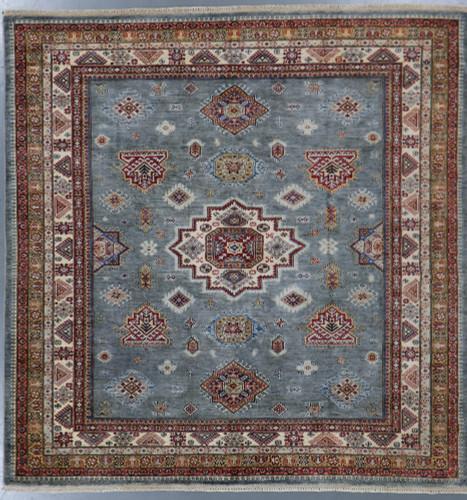 Kazak Farahan Fine Veg Dye Rug (Ref 408) 243x243cm