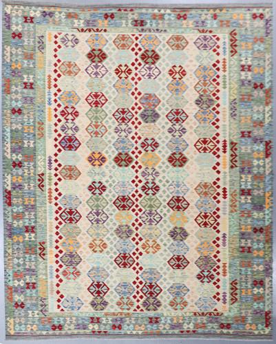 Veg Dye Afghan Kilim Fine (Ref 16) 401x301cm