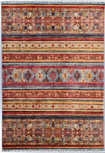 Kazak Suzani Khorjin Fine Veg Dye Rug (Ref 404) 241x170 cm