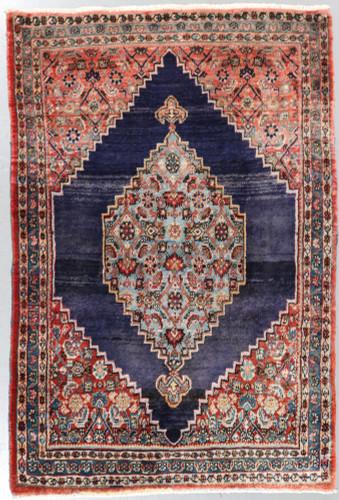 Hamadan Malayer Vintage Persian Rug (c1950) (Ref 52) 190x130cm