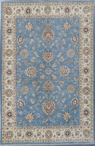 Chobi Fine Veg Dye Rug (Ref 11003) 303x199cm