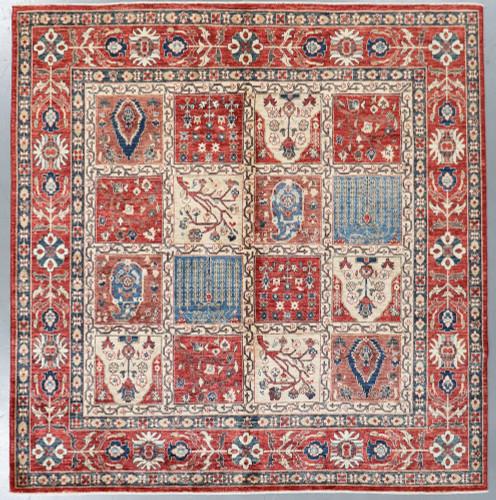 Chobi Fine Ferehan Veg  Dye Rug (Ref 411) 254x248cm