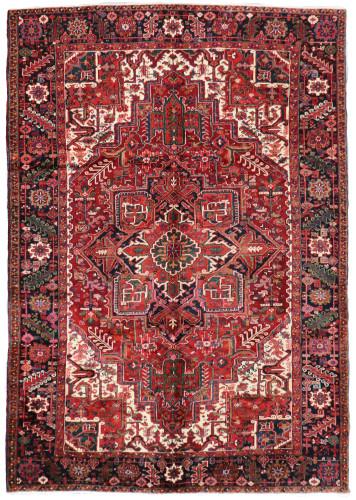 Heriz Fine Vintage Village Persian Rug (Ref 58) 350x240cm