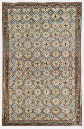 Kashan Fine Vintage Traditional Persian Rug (Ref 344) 205x140cm