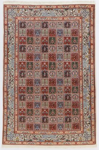 Birjand Paradise Panel Design Persian Rug (Ref 31a) 309x197cm