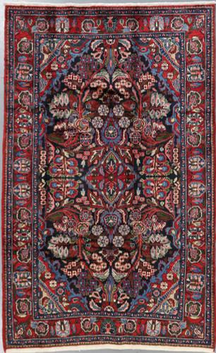 Nahavand Vintage Persian Rug (Ref675) 245x145cm