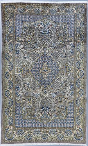 Qum Fine Vintage Persian Rug (Ref 514) 270x145cm