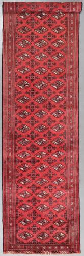 Turkmen Vintage Fine Tribal Runner (Ref 482) 400x95cm