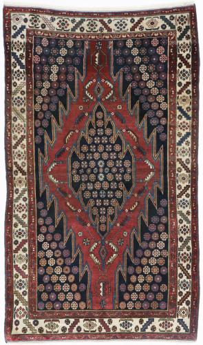 Hamadan Mazlagan Antique c1900 Persian Rug (Ref 10) 210x130cm