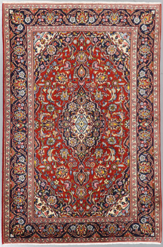 Kashan Traditional Persian Rug (Ref 479) 200x130cm