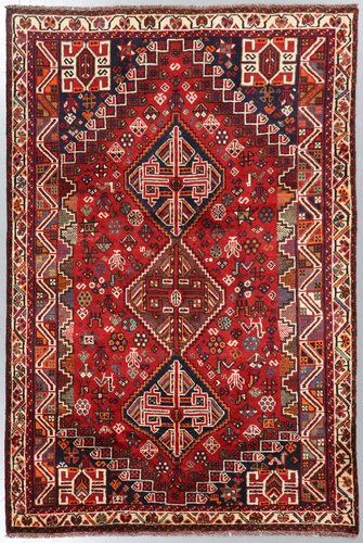 Shiraz Tribal Persian Rug (Ref 451) 246x165cm