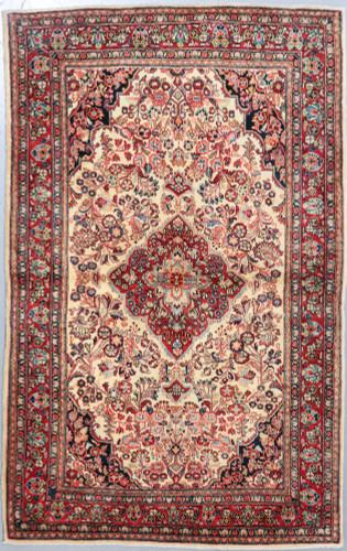 Jozan Fine Antique c1900 Persian Rug (Ref 73) 215x135cm