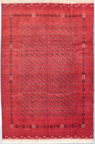 Kundus Fine Afghan Vintage Bokhara Tribal Rug (Ref 879) 300x201cm
