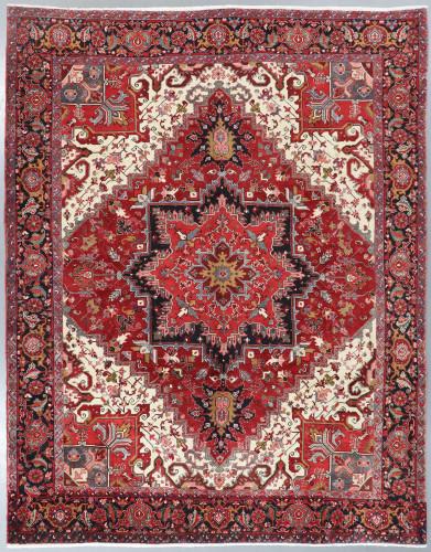 Heriz Fine Persian Rug (Ref 18) 390x300cm