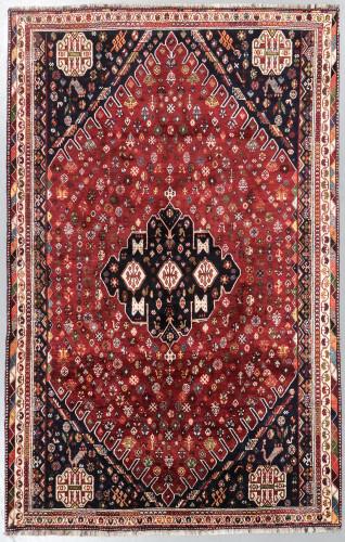 Qashqai Fine Vintage Persian Rug (Ref 134) 285x180cm