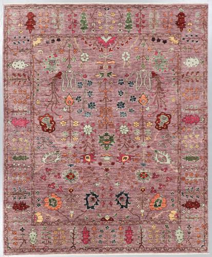 Chobi Fine Veg Dye Rug (Ref 501) 299x246cm