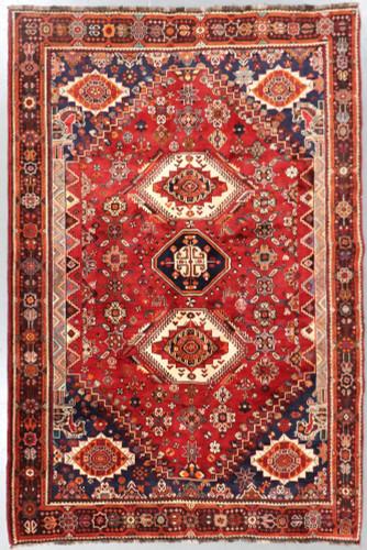 Shiraz Qashqai Fine Pictorial Persian Rug (Ref 481) 290x195cm