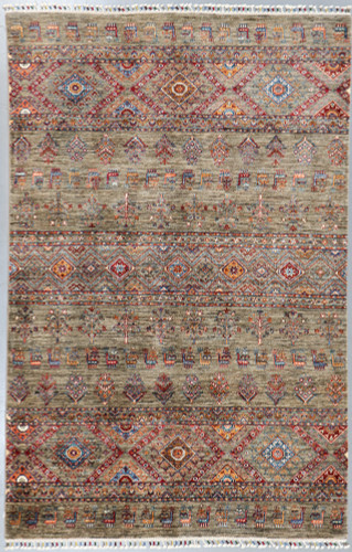 Kazak Suzani Khorjin Fine Veg Dye Rug (Ref 504) 257x165cm