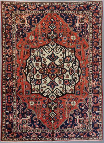 Bakhtiari Vintage Persian Village Rug (Ref 36a) 305x210cm