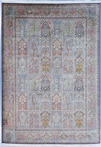 Kashmir Fine Pure Silk Rug (Ref 366) 305x217cm