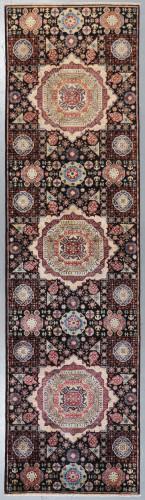 Chobi Mamluk Fine Veg Dye Runner (Ref 827) 299x80cm