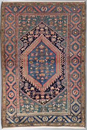 Hamadan Zanjan Antique Persian Rug (Ref 56) 200x135cm
