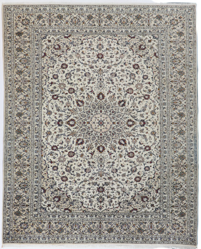 Kashan Pistachio Persian Rug (Ref 406) 390x300cm