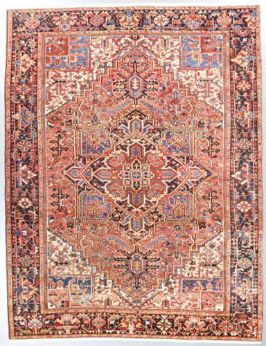 Heriz Vintage Persian Rug (Ref 62a) 320x245cm
