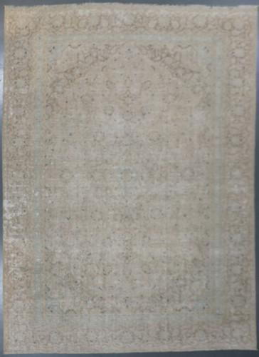 Kerman Vintage Zero Pile Persian Rug (Ref 701) 394x272cm