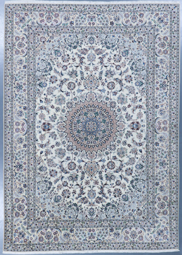 Nain Fine wool and silk Persian Rug (Ref 5698a) 350x251cm