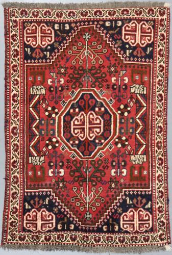 Shiraz Tribal Persian Rug (Ref 163) 140x97cm