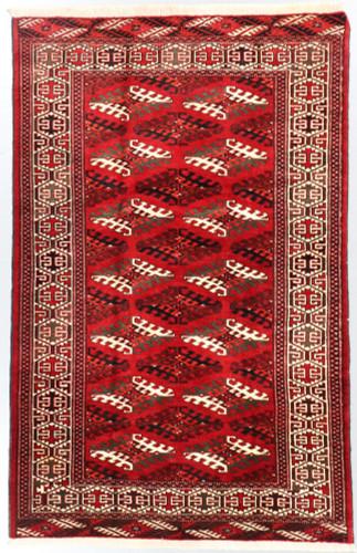 Turkmen Tribal Rug (Ref 551) 203x133cm