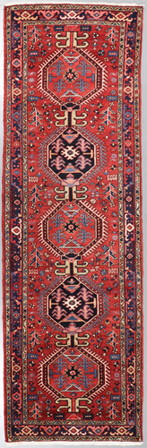 Heriz Rare Persian Runner (Ref 201) 330x105cm