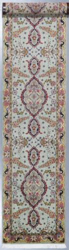 Fine Silk Inlay Tabriz Runner (Ref 93) 486x85cm