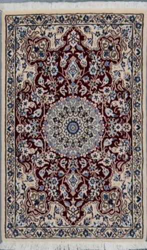 Nain 9L Persian Rug (Ref 216) 100x65cm