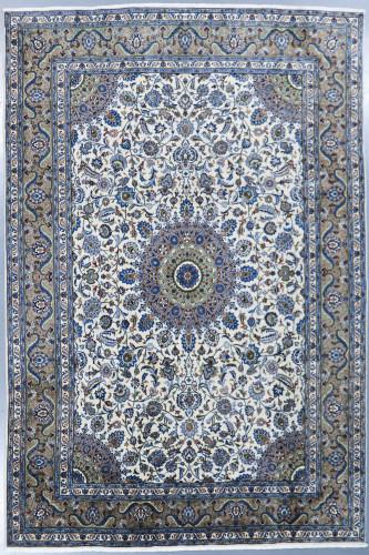 Kashan Pistachio Persian Rug (Ref 463) 360x240cm